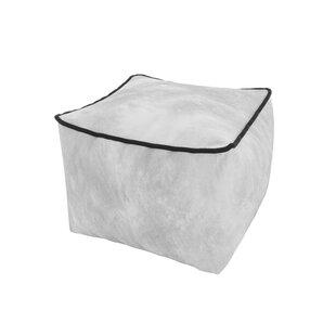 Cube Luxury Stool Bean Bag By Fairmont Park