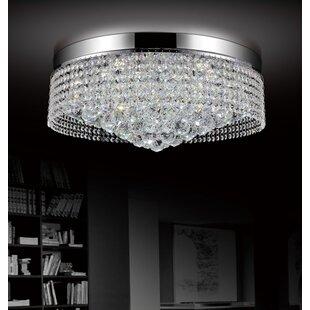 CWI Lighting 10-Light Flush Mount
