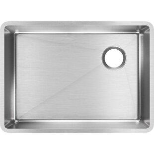 Crosstown 26 L x 19 W Undermount Kitchen Sink by Elkay