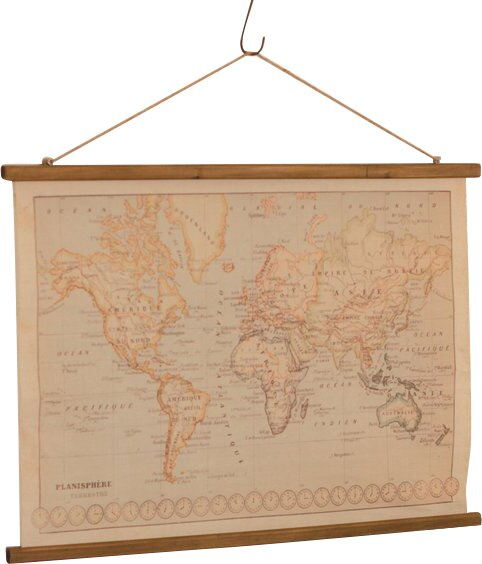 Canvas printed world map wall hanging reviews joss main canvas printed world map wall hanging gumiabroncs Image collections