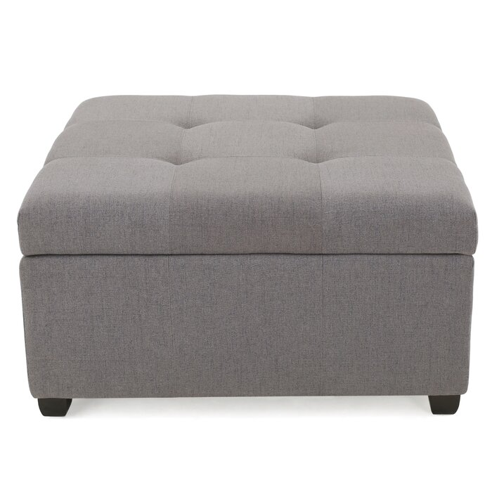 Cool Ernestine Storage Ottoman Gmtry Best Dining Table And Chair Ideas Images Gmtryco