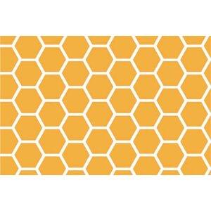 Honeycomb Portable Mini Fitted Crib Sheet