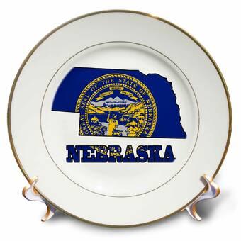 East Urban Home Trumpet Players Kick Brass Porcelain Decorative Plate Wayfair
