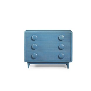 Yasmine 3 Drawer Accent Chest by Brayden Studio
