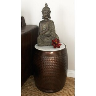 Metal and Marble End Table ByCole & Grey