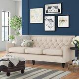 Stoughton 84 Square Arm Sofa by Three Posts™