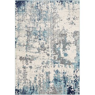 Wyona Distressed Abstract Multicolor Area Rug