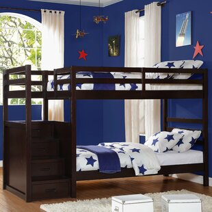 Atlas Twin Over Bunk Bed with Storage by Woodhaven Hill
