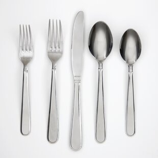 Rosalind Mirror 42 Piece Flatware Set, Service for 8