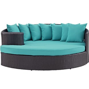 Brentwood Outdoor Patio Daybed with Cushions by Sol 72 Outdoor