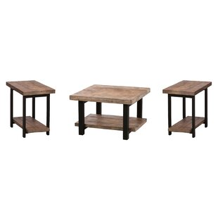 Mistana Veropeso 3 Piece Coffee Table Set