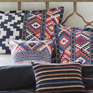 Addilynn Stripe 2 Piece Throw Pillow Set