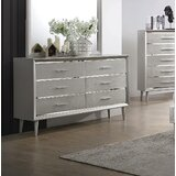 Plumlee 6 Drawer Double Dresser by Everly Quinn
