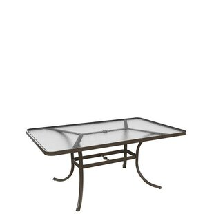 Umbrella Dining Table by Tropitone #2