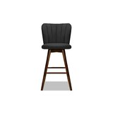 Patsy Swivel Bar & Counter Stool by Ivy Bronx