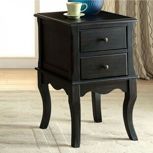 Hively End Table with Storage