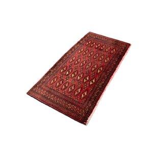 Cattalina Hand Hooked Wool Red Indoor/Outdoor Rug By Bloomsbury Market
