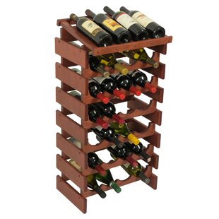 Dakota 28 Bottle Floor Wine Rack by Woode..