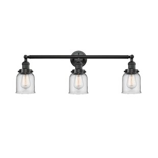 Beachcrest Home Nason Vintage 3-Light Vanity Light