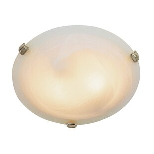 Charlton Home Lindley 2-Light Flush Mount