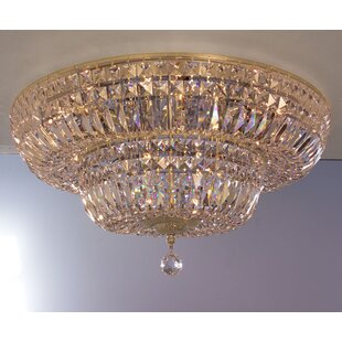 Classic Lighting Empress 12-Light Flush Mount