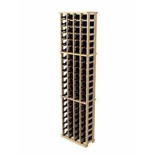 Wine Cellar Innovations Rustic Pine 84 Bottle Wall Mounted Wine Rack