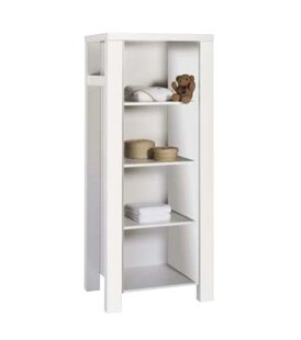 Milano White Bookcase By Schardt
