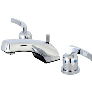 Kingston Brass Centurion Widespread Bathroom Faucet with Drain Assembly Image