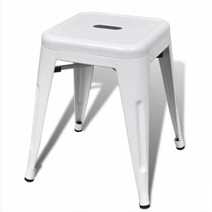 Naylor Metal Stool (Set Of 2) By Borough Wharf