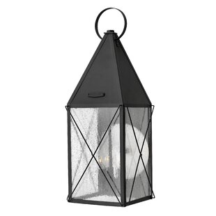 York 3-Light Outdoor Wall Lantern