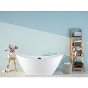 68 x 29 Freestanding Soaking Bathtub by Pulse Showerspas