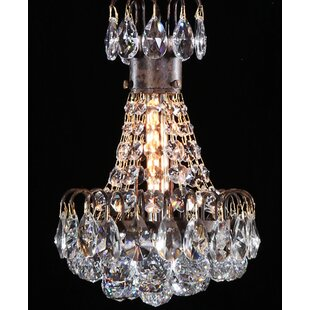 Bouquet 1-Light Crystal Pendant by Manor Luxe