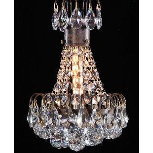 Bouquet 1-Light Crystal Pe..