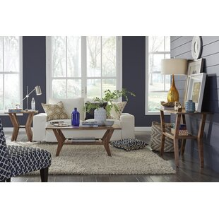 Haffey 3 Piece Coffee Table Set