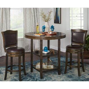 Romero 3 Piece Pub Table Set Astoria Grand