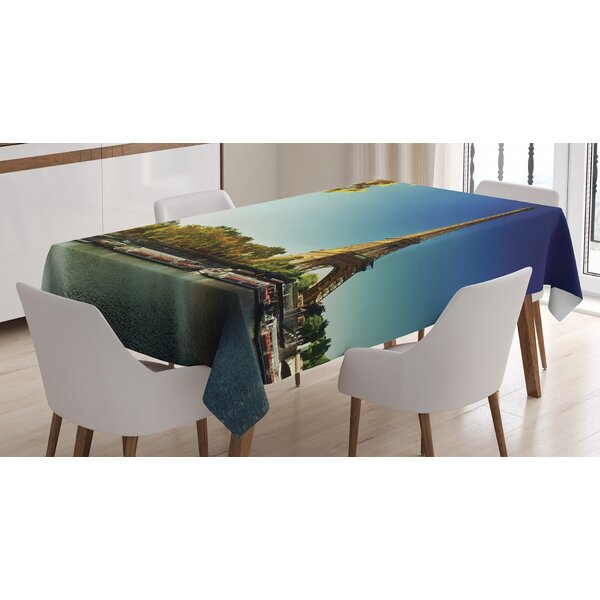 Ambesonne Retro Table Runner Dining Room Kitchen Decor in 3 Sizes