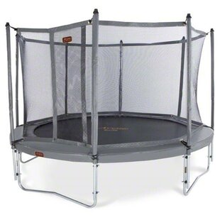 Kidwise JumpFree Proline 15' Round Trampoline with Safety Enclosure