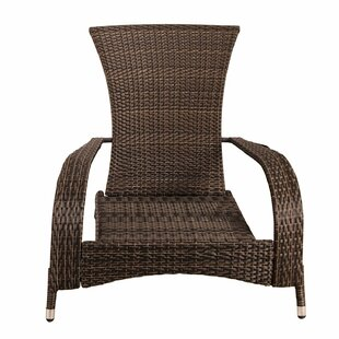 Crosstown Extra-Comfortable Wicker Patio Chair with Cushions
