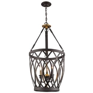 Mariah 3-Light Lantern Chandelier by Char..