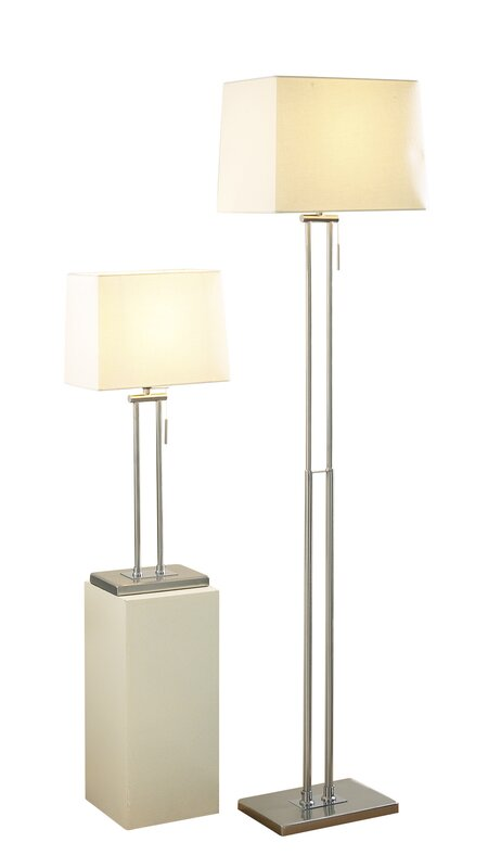 Dar lighting picasso 2 piece table and floor lamp set reviews picasso 2 piece table and floor lamp set aloadofball Choice Image
