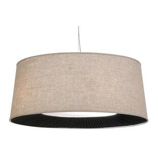 Meyda Tiffany Greenbriar Oak Cilindro 5-Light Pendant