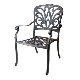 Bosch Stacking Patio Dining Chair (Set of 4)