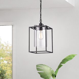 Jacquline 1-Light Square/Rectangle Pendant by Ivy Bronx