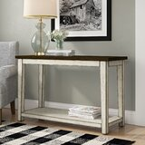 Yother 48 Solid Wood Console Table by August Grove