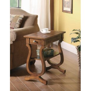 Jaiden End Table with Storage by Longshore Tides