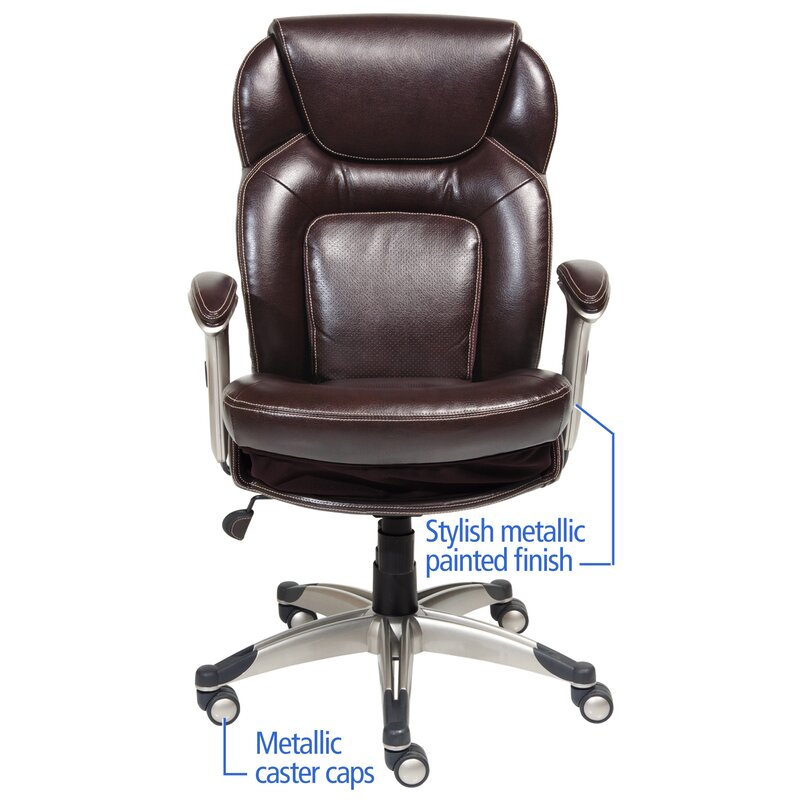 Ordinaire Back In Motion™ Health And Wellness Mid Back Desk Chair
