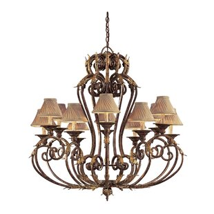 Metropolitan by Minka Zaragoza 12-Light Shaded Chandelier