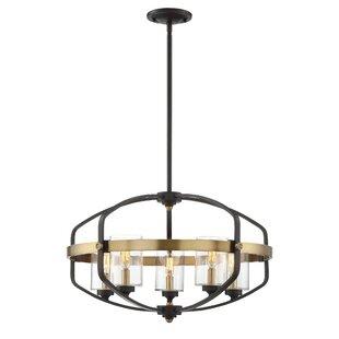 Modern foyer pendant lighting allmodern esme 5 light foyer pendant aloadofball Images