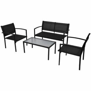 Hale 4 Seater Sofa Set By Sol 72 Outdoor