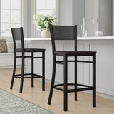 Fannie 30.25 Bar Stool (Set of 2) by Red Barrel Studio®